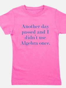 Algebra Girl's Tee