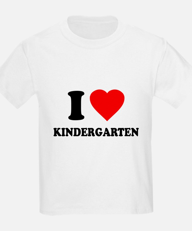 I Love New Kindergarten T-Shirt