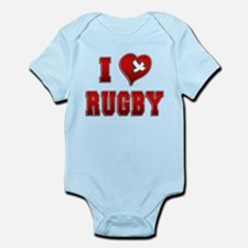 Cute Rugby girl Infant Bodysuit