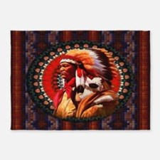 Lakota Chief 5'x7'Area Rug