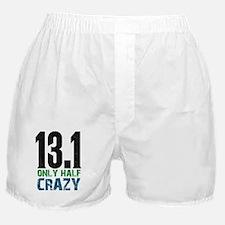 halfmarathonhalfcrazy Boxer Shorts