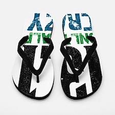 halfmarathonhalfcrazy Flip Flops