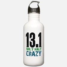 halfmarathonhalfcrazy Water Bottle