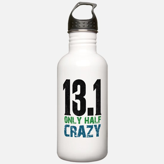 halfmarathonhalfcrazy Water Bottle