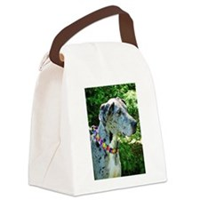 Great Dane Autism Aware Canvas Lunch Bag