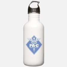 PA-C (diamond) Water Bottle