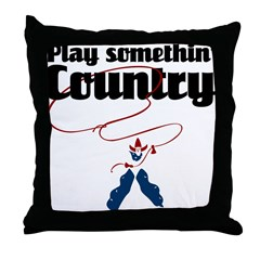 Somethin' Country Throw Pillow