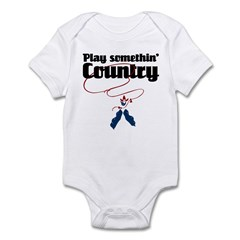 Somethin' Country Infant Bodysuit