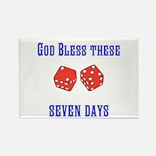 Seven Days Christian Kane Magnets