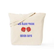 Seven Days Christian Kane Tote Bag
