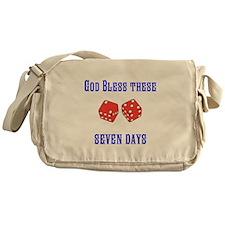 Seven Days Christian Kane Messenger Bag