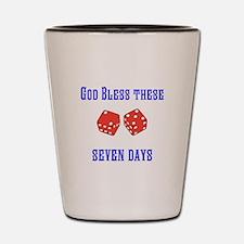 Seven Days Christian Kane Shot Glass