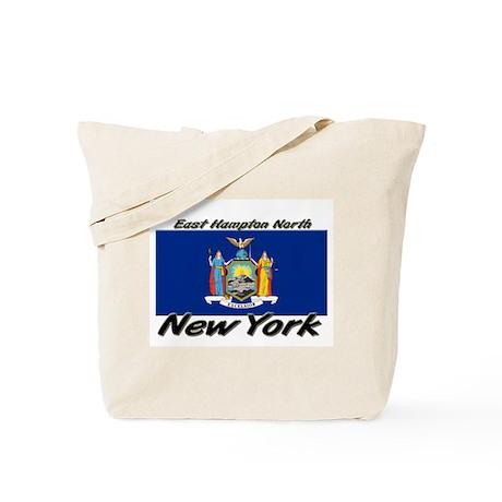 East Hampton North New York Tote Bag
