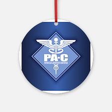 PA-C (diamond) Round Ornament