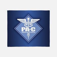 PA-C (diamond) Throw Blanket