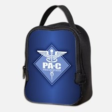 PA-C (diamond) Neoprene Lunch Bag