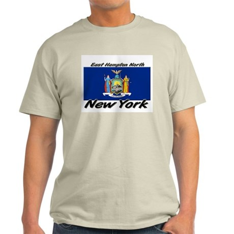 East Hampton North New York Light T-Shirt