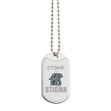 Stomp Out Stigma Dog Tags