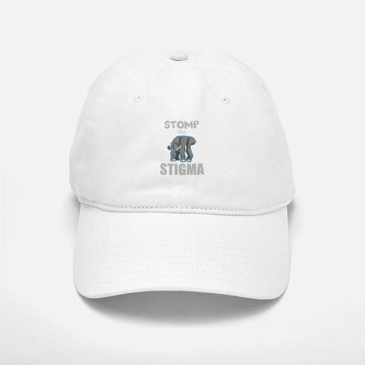 Stomp Out Stigma Baseball Baseball Baseball Cap