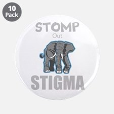 "Stomp Out Stigma 3.5"" Button (10 pack)"
