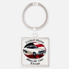 Ford Fairlane GT Square Keychain