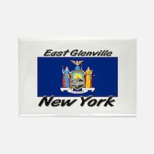 East Glenville New York Rectangle Magnet