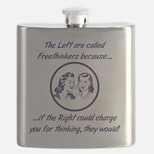 Left Freethinkers Flask