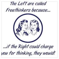 Left Freethinkers Poster
