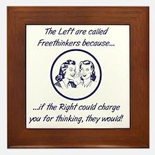 Left Freethinkers Framed Tile