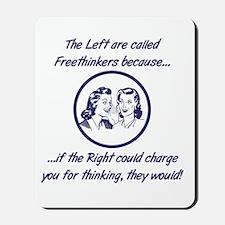 Left Freethinkers Mousepad