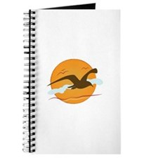 Seagull Sunset Journal