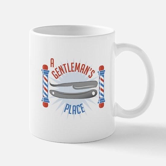 Gentlemans Place Mugs