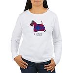 Terrier-Corbett.Ross Women's Long Sleeve T-Shirt