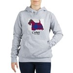 Terrier-Corbett.Ross Women's Hooded Sweatshirt