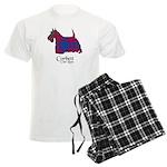 Terrier-Corbett.Ross Men's Light Pajamas