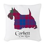 Terrier-Corbett.Ross Woven Throw Pillow