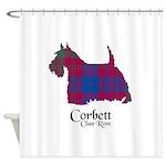 Terrier-Corbett.Ross Shower Curtain