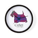 Terrier-Corbett.Ross Wall Clock