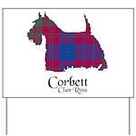 Terrier-Corbett.Ross Yard Sign