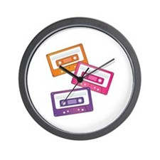 Cassette Tapes Wall Clock