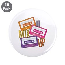 "Mix It Up 3.5"" Button (10 pack)"