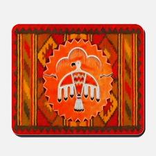 Orange Thunderbird Mousepad