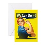 Feminist Greeting Cards (20 Pack)