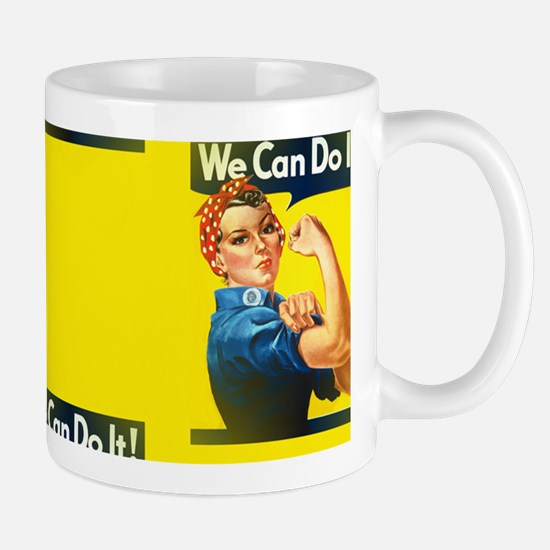 rosie the riveter Mugs