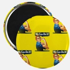 rosie the riveter Magnets