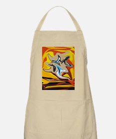 Liquified God In Hell BBQ Apron