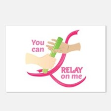 Relay On Me Postcards (Package of 8)