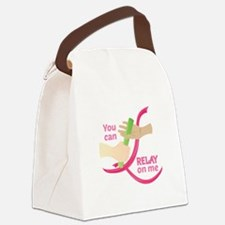 Relay On Me Canvas Lunch Bag