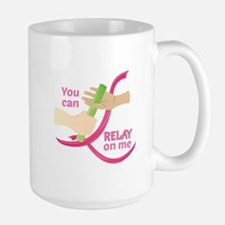 Relay On Me Mugs