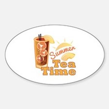 Summer Tea Time Decal